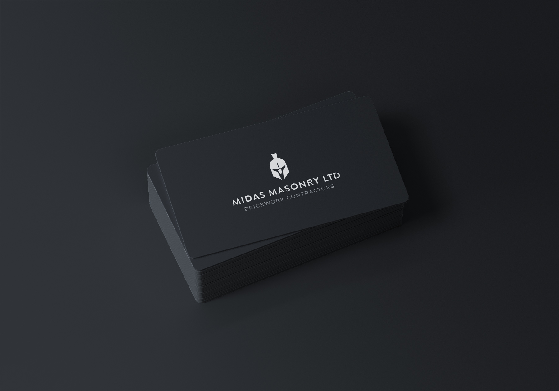 Midas Masonry Business Card